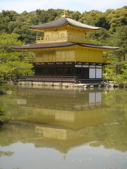 un jolie jeu de reflet dans le lac...
