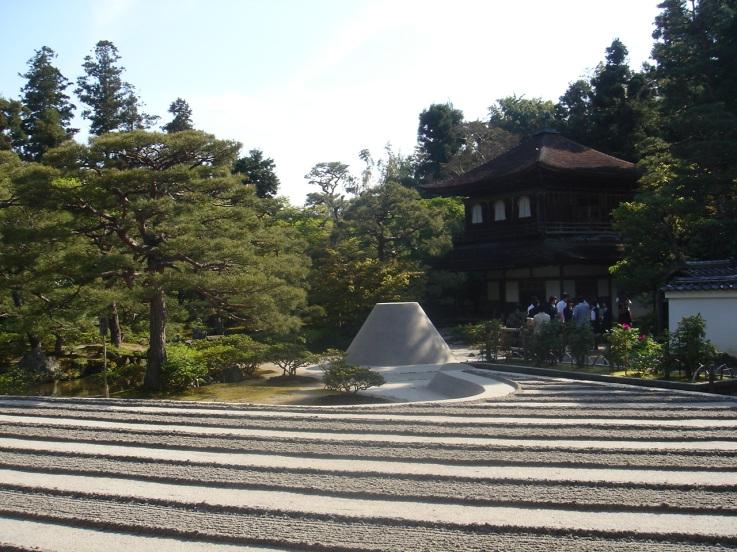 vue sur le jardin zen, 3D meditation