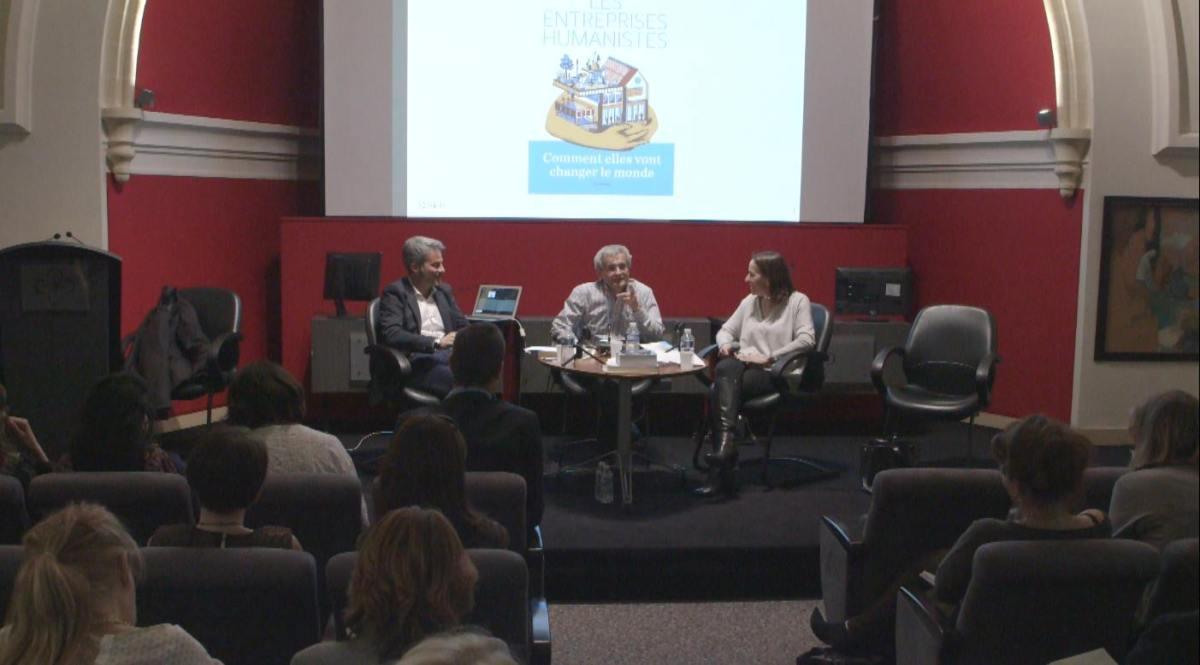 Jacques Lecomte : Les Entreprises Humanistes en poésie