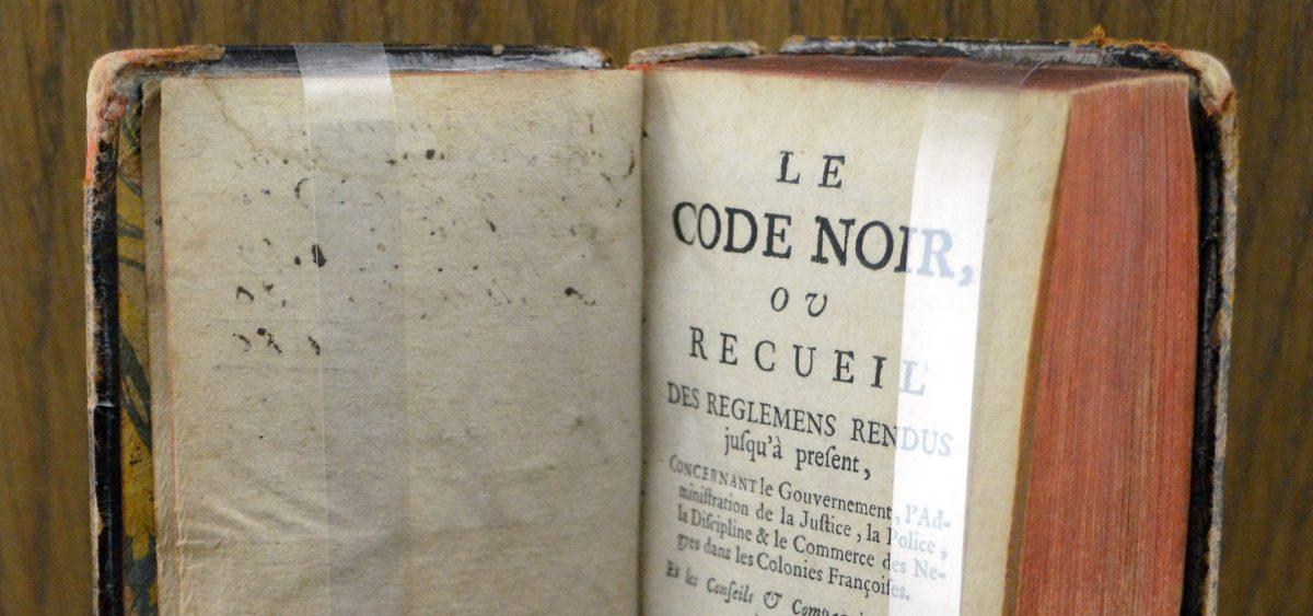 """[Récit d'une Servitude] Poème """"Au Revoir le Code Noir"""""""