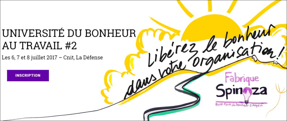 {Université du Bonheur au Travail} Poème Les Entreprises Heureuses
