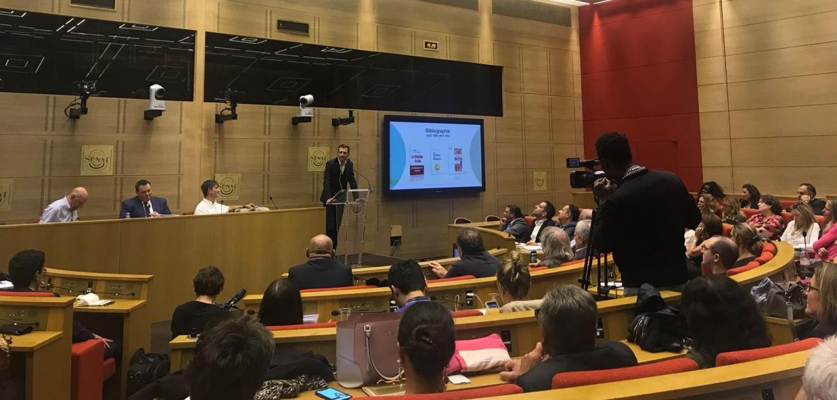 Conférence au Sénat : Discours Poétique Bien-Etre au Travail et Leadership Eclairé