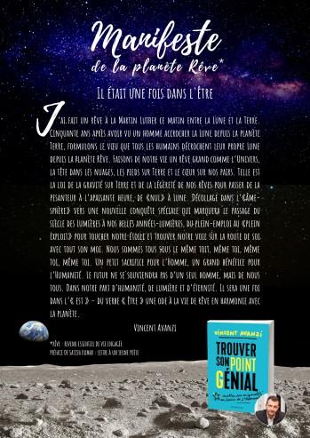 Manifeste de la planète Rêve Il était une foi dans l'être