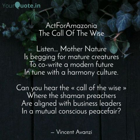 Actforamazonia Poems Home Sweet Home Call Of The Wise